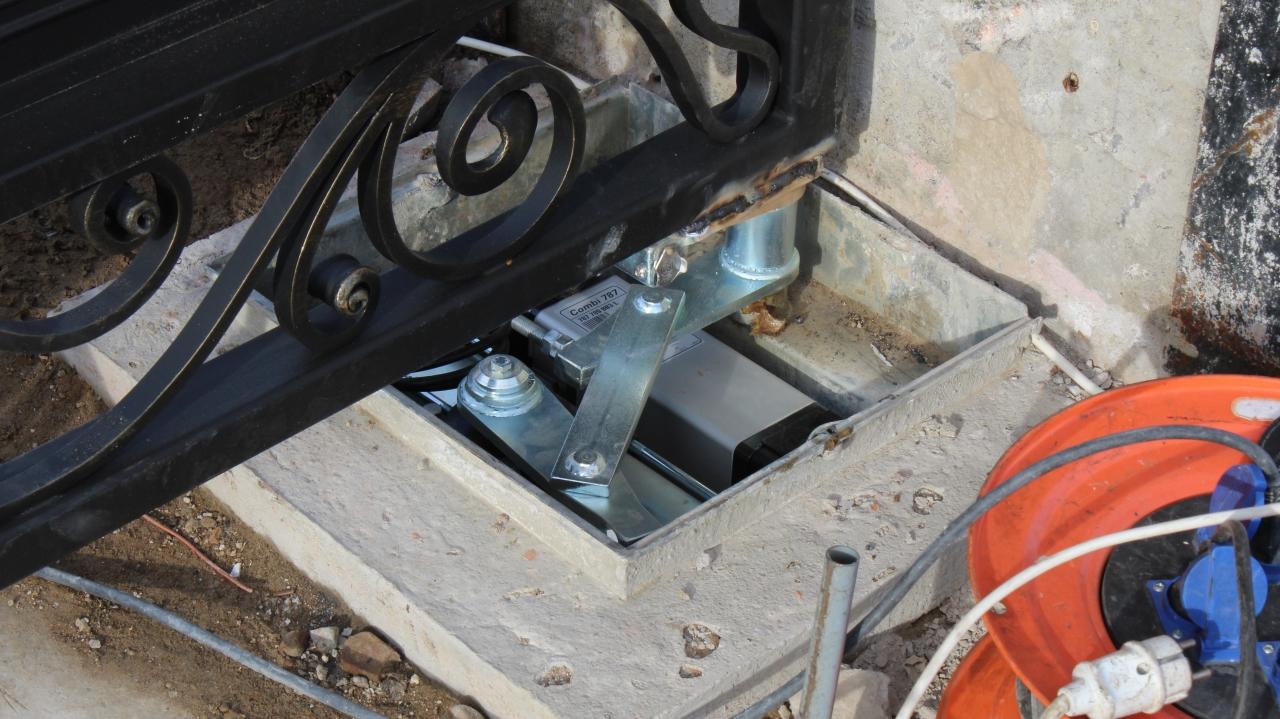 Гидравлическая автоматика для ворот